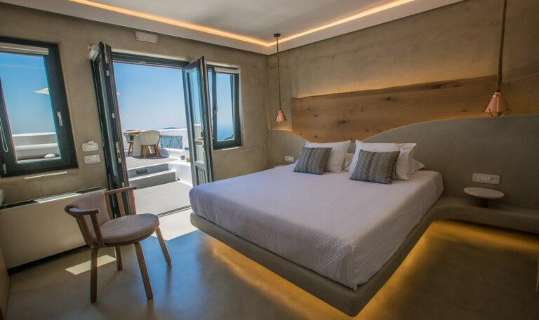 Chic hotel santorin